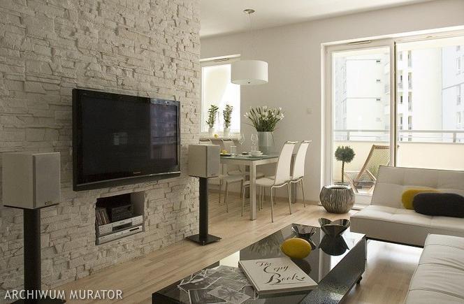 Telewizor Na ścianie W Salonie 11 Pomysłowych Aranżacji Z