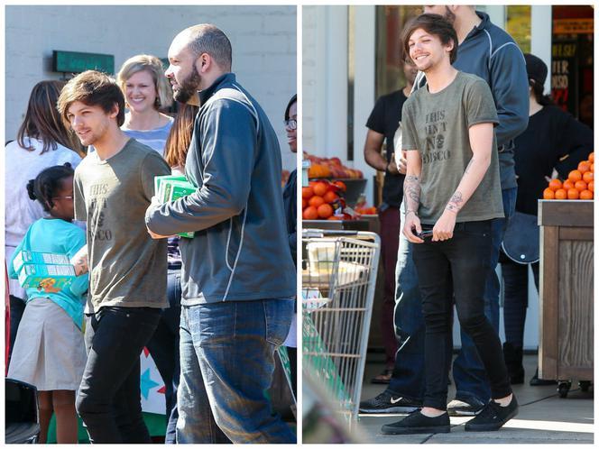 Z kim się spotyka Louis Louis