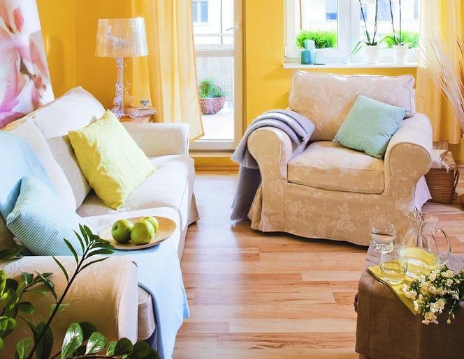 Podpowiadamy Do Jakich Wnętrz Pasują żółte Kolory ściany