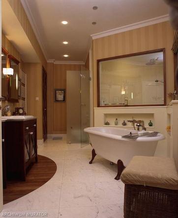 Aranżacje łazienek Czy Poradziłbyś Sobie Z Takimi Płytkami
