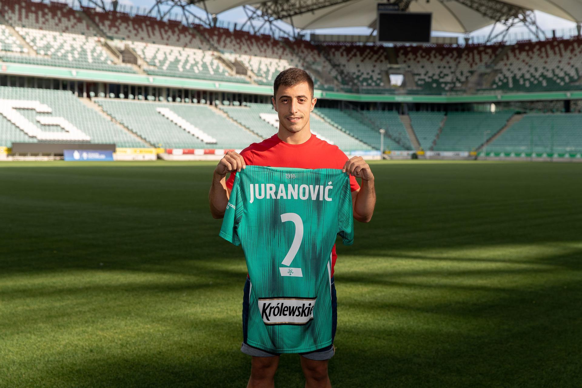 Piękny wpis nowego piłkarza Legii. Josip Juranović pożegnał kibiców Hajduka - Super Express