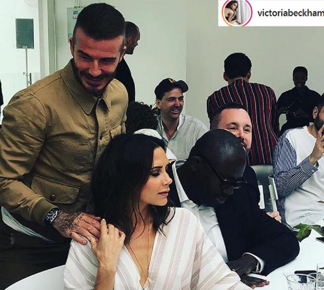 Victoria Beckham i David Beckham Hotplota.pl