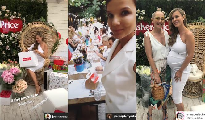 Joanna Krupa - baby shower