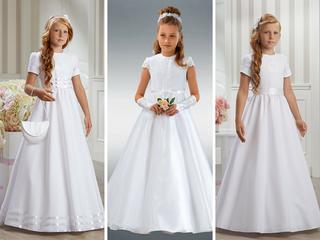 7a32a44575 Sukienki na komunię dla dziewczynek - najładniejsze sukienki ...