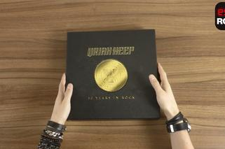 Co tam w środku gra? Uriah Heep - Fifty Years In Rock - UNBOXING