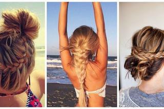 Zobacz Fryzury Które Są Idealne Dla Długich Włosów Na Plażę