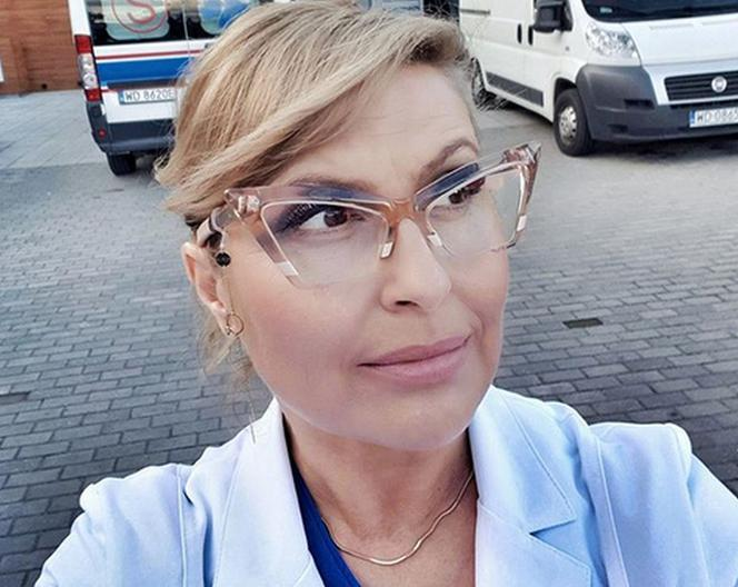 Katarzyna Skrzynecka w Na dobre i na złe. Zagra seksowną docent. Kiedyś była kimś innym!