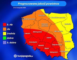 Smog Nad Polska Mapa Powietrza Ktore Jest Toxic Video Eska Pl