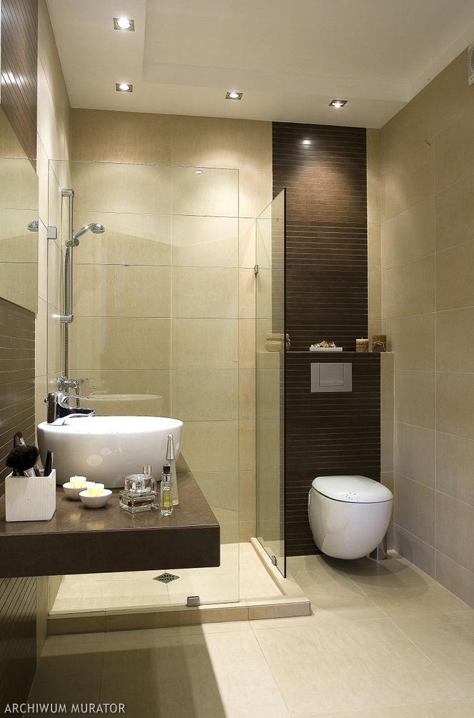 Mała łazienka Z Prysznicem Muratorpl