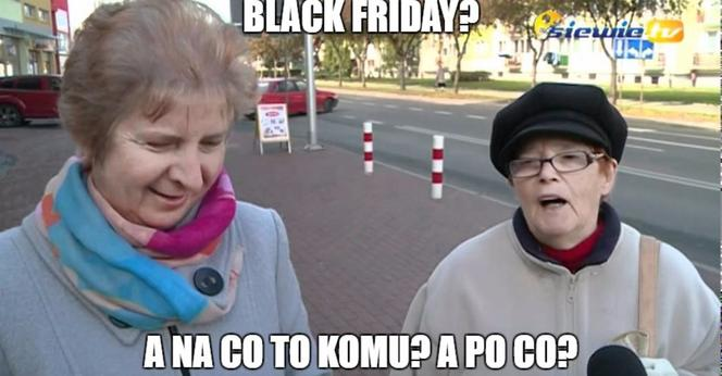Black Friday memy