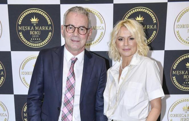 Robert Janowski and his wife Monika Janowska