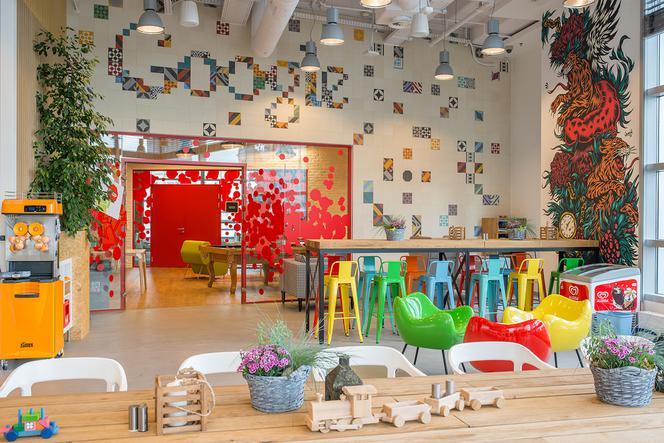 Inspirujące biura Google