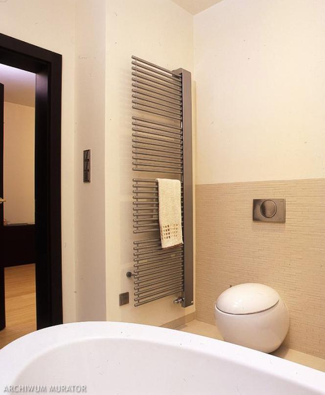 Drabinkowy Grzejnik łazienkowy Dekoracyjny Element
