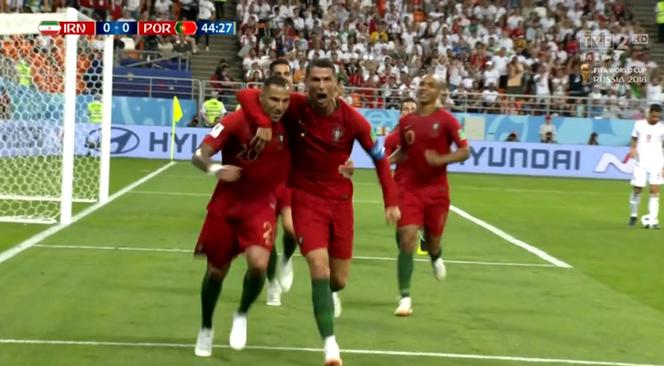 45fdfc07ae MŚ 2018  Ricardo Quaresma w swoim stylu. Piękny gol dla Portugalii ...