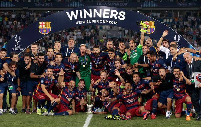 Superpuchar Europy: Barcelona -Sevilla 5:4. Co za mecz w Tbilisi! [ZOBACZ BRAMKI] - Super Express