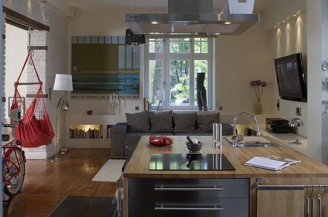 10 Bardzo Eleganckich Kuchni Otwartych Na Salon Zdjęcia