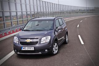 Wybitny Chevrolet Orlando 1.8 - TEST, opinie, zdjęcia, wideo - DZIENNIK RP74