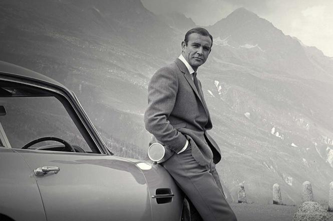 Sean Connery, Aston Martin DB5, James Bond, agent 007