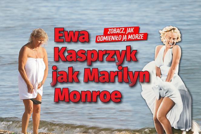 e0d08afa6a849a Ewa Kasprzyk jak Marilyn Monroe! [DUŻO ZDJĘĆ] - Super Express