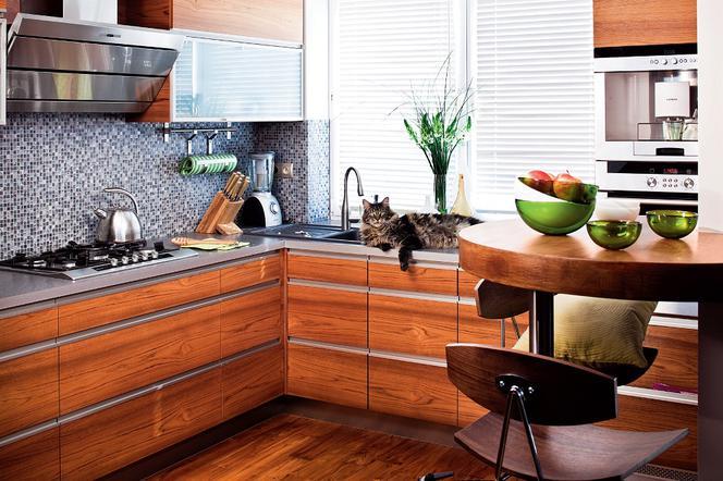 Mozaika Drewno I Stal W Jednej Kuchni Dlaczego Nie