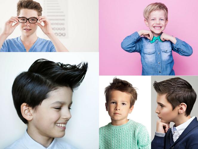Fryzury Dla Chłopców Modna Fryzura Dla Kilkuletniego