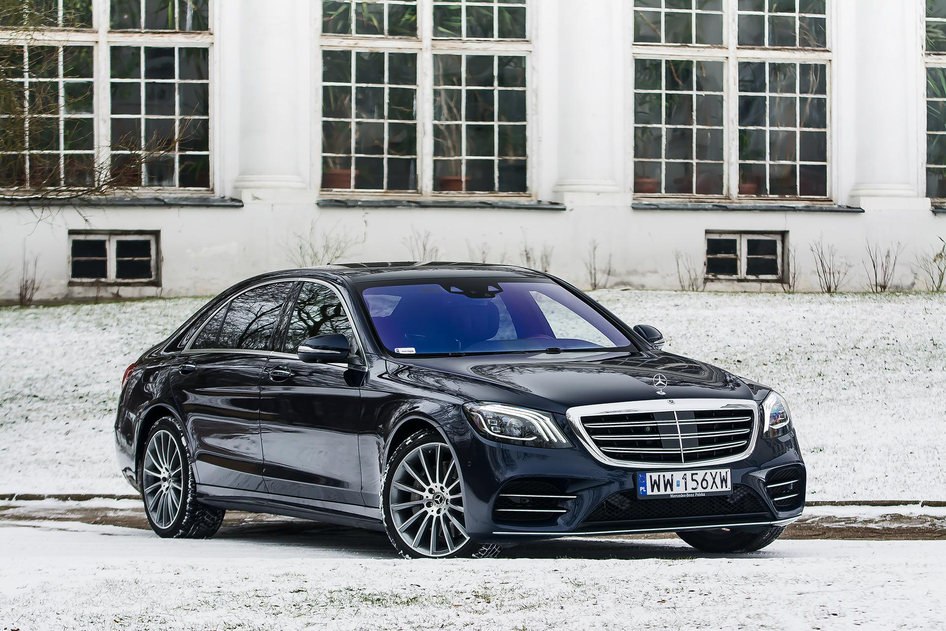 TEST Mercedes Benz S560 L 4Matic kr³lewski komfort Super Express