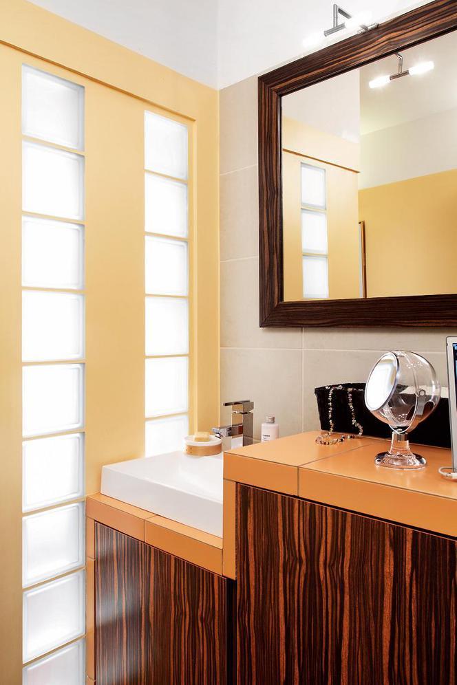 Pomysł Na żółtą łazienkę Oto Jak Z 2 Małych Wnętrz