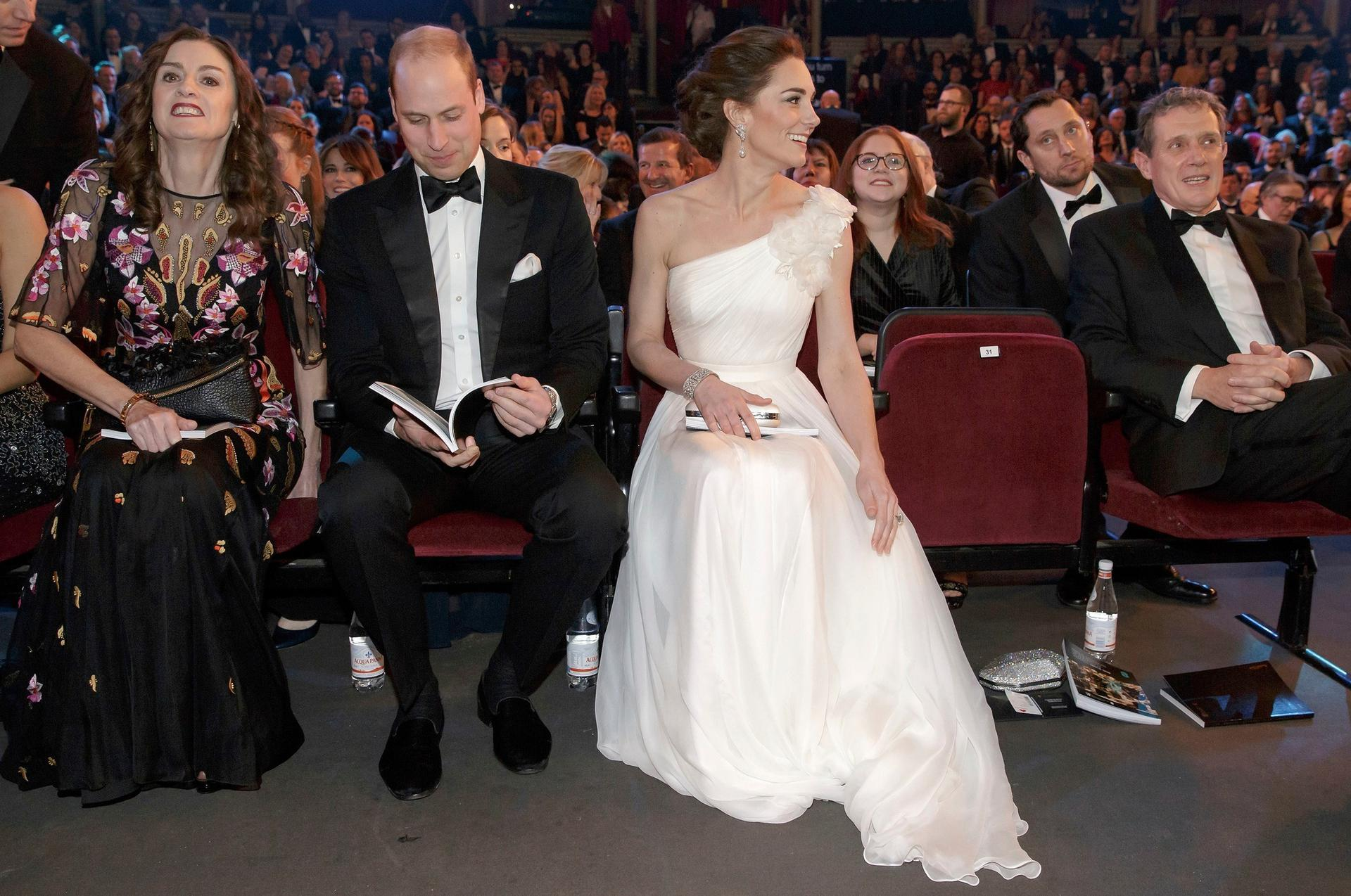 BAFTA 2019 - Kate Middleton i książę William