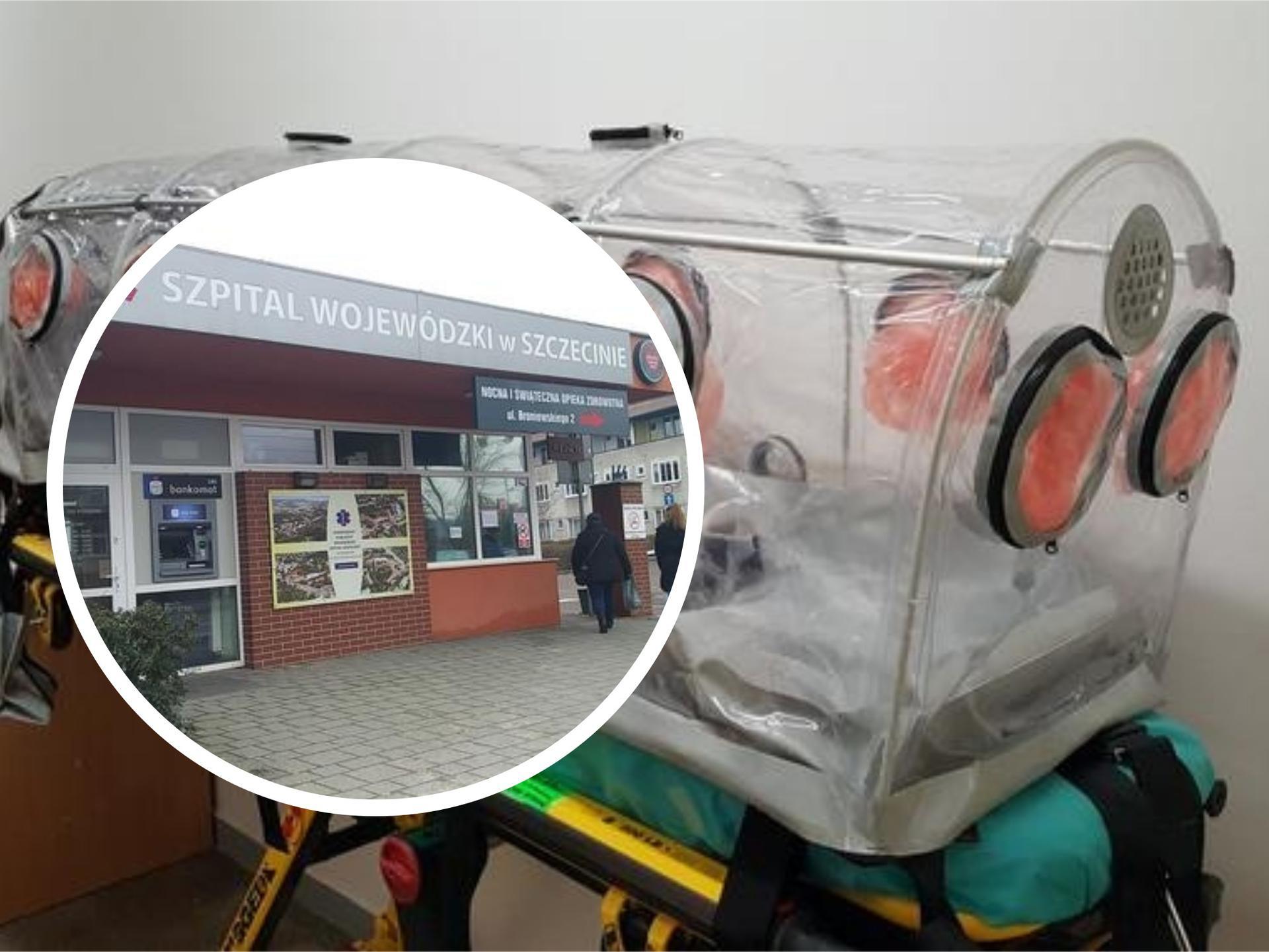 Koronawirus w Polsce? Kolejny pacjent trafił do szczecińskiego szpitala - Super Express