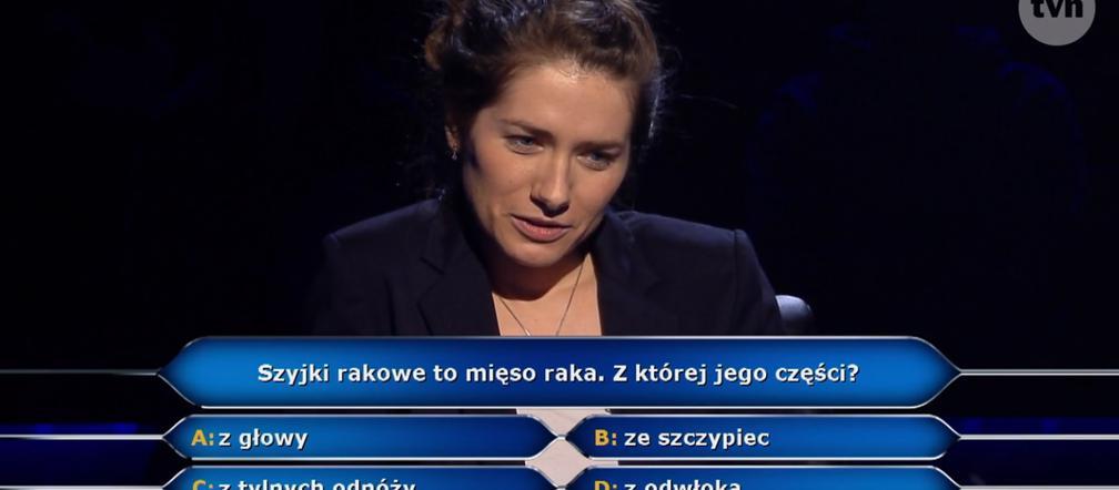 Szyjki rakowe - z czego są? Mięso z jakiej części raka? Odpowiedź na pytanie z Milionerów - ESKA.pl