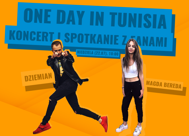 Olivia Fok, Magda Bereda i inni podczas One Day in Tunisia! BILETY i PROGRAM imprezy w Hulakula!