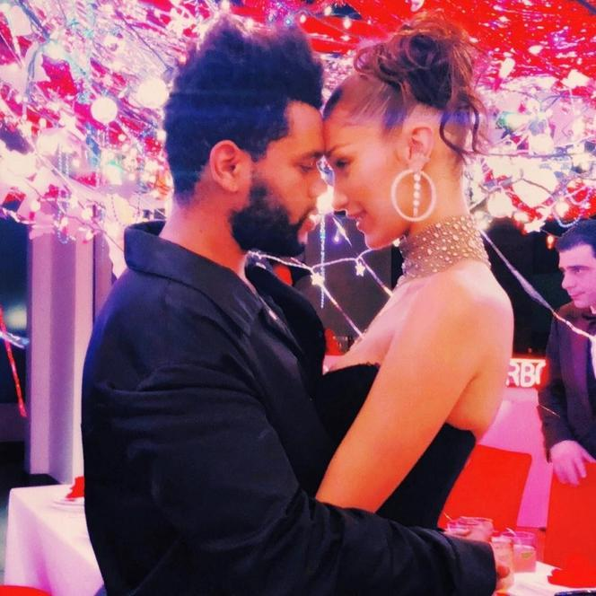 The Weeknd i Bella Hadid