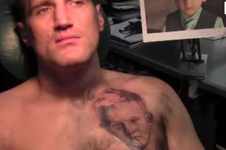 Nowy Tatuaż Mariusza Wacha Zdjęcia Super Express