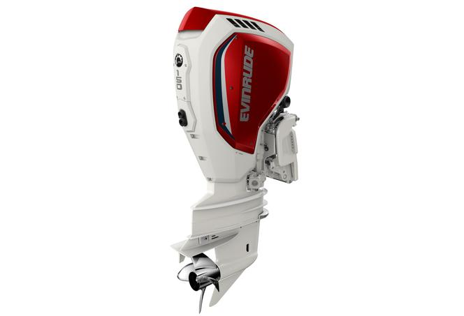 Evinrude_150 HP custom White