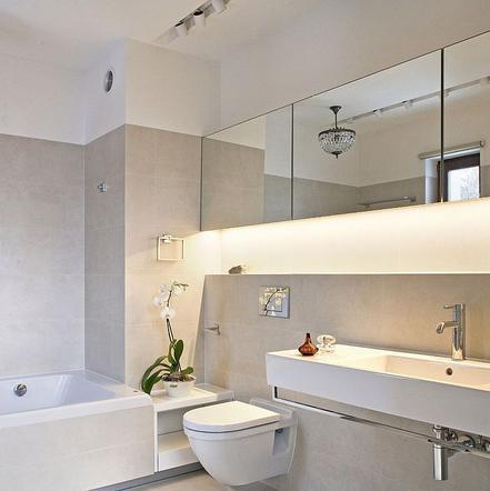 Oświetlenie łazienkowe Led Pomysły Na Diody Led W
