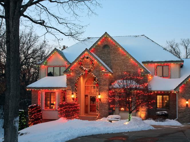 Oświetlenie Domu Na święta Bożego Narodzenia Pomysły Na