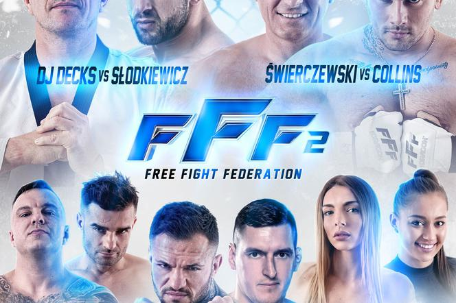 Free Fight Federation 2 - zawodnicy