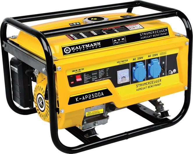 Inteligentny Wybieramy agregat prądotwórczy do domu: generator prądu KH38