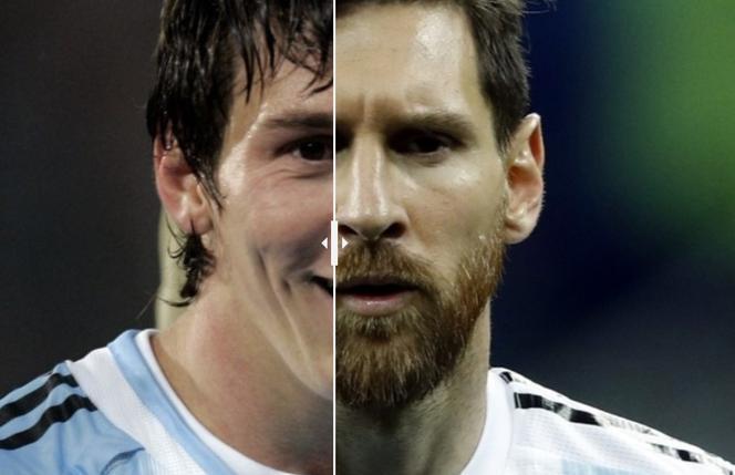 Leo Messi Kiedyś I Dziś Ale Się Zmienił Przez 13 Lat
