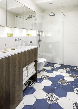 Wykończenie łazienki Materiały Na ściany I Podłogi