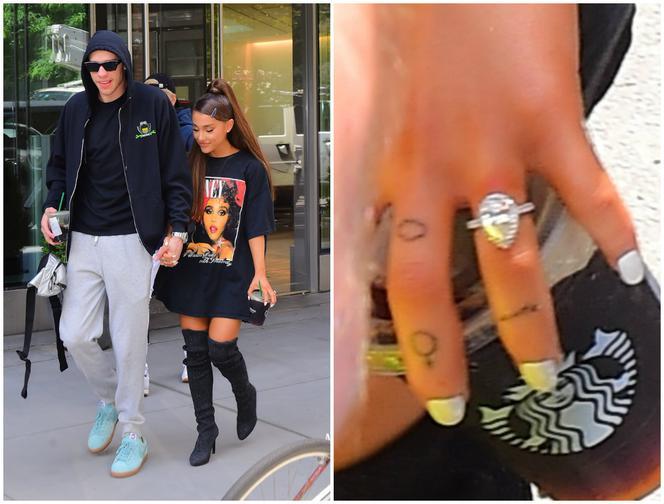 Ariana Grande Ma Nowy Tatuaż Poświęcony Narzeczonemu Uroczy