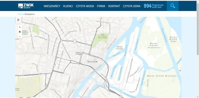 W Internecie Sprawdzimy Gdzie Zabraknie Wody W Szczecinie Super