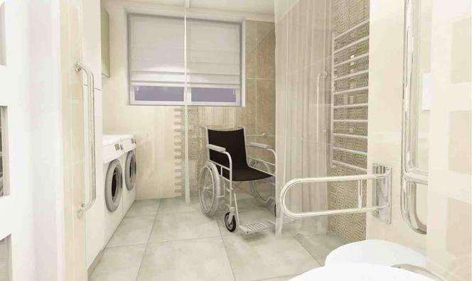 łazienka Dla Osoby Niepełnosprawnej Projekt Akcesoria