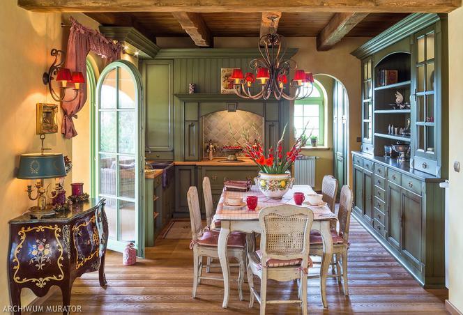Kuchnia I Jadalnia W Stylu Toskanskim