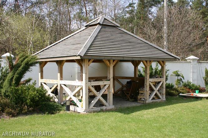Drewno W Ogrodzie Drewniane Elementy Architektury Ogrodowej