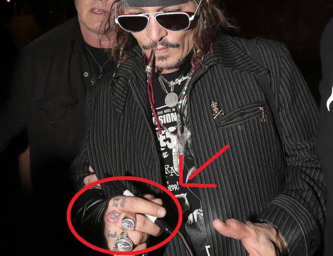 Johnny Depp Przerobił Kolejny Tatuaż Ten Poświęcony Amber