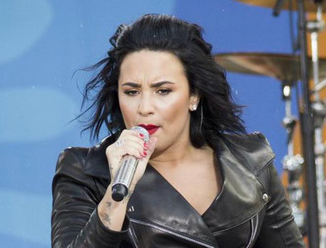Demi Lovato NAGO promuje na Instagramie kawałek Body Say