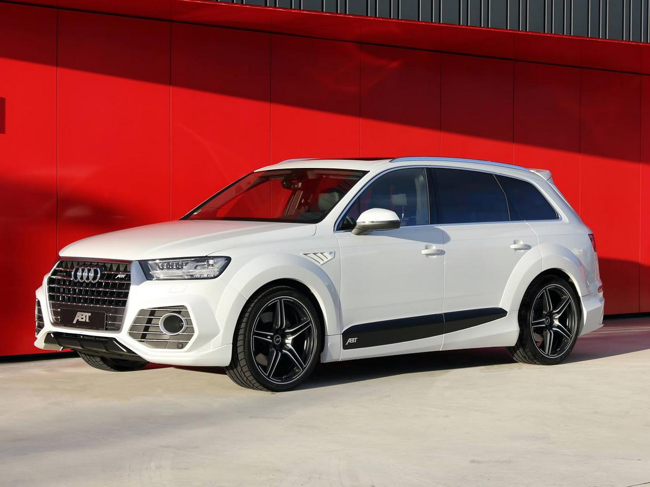 Nowe Audi Q7 Po Tuningu Abt Sportsline Super Express