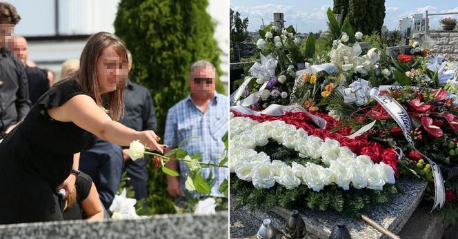 El heroico camionero murió en Grębiszewo.  Un mar de lágrimas y flores inundó su tumba