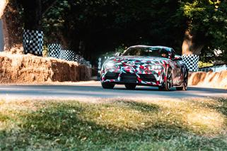 Toyota Supra debiutuje na Goodwood Festival of Speed
